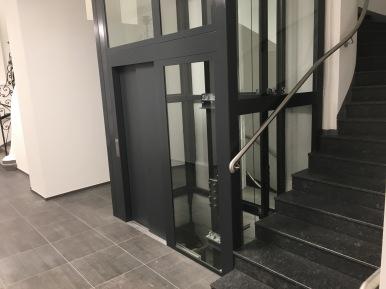 Aufzug in Stiegenspindel